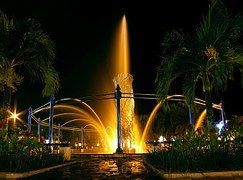 Balikpapan, Indonesia, Fountain, City