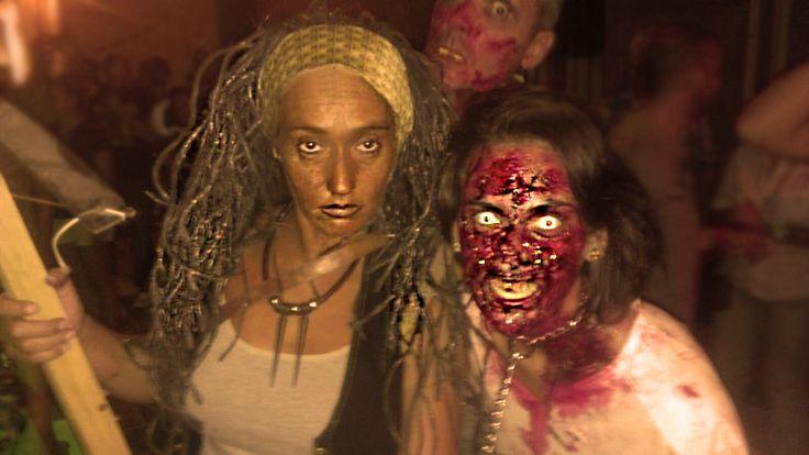 """Disfraz Halloweed de """"Walking Dead"""" Ganamos el 1er premio!!!"""