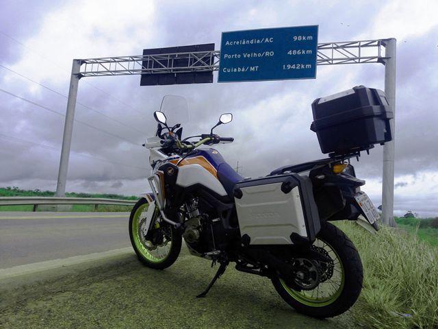 CRF 1000 AFRICA TWIN - Relato de uma experiência inovadora! - Rondoniaovivo - Notícias, Classificados e Banco de Empregos de Rondônia