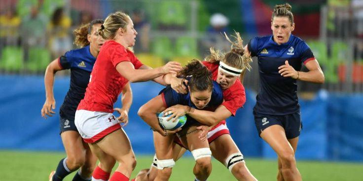 Rio 2016 - Rugby à 7 : fin du rêve pour les Françaises - France TV Sports - 08/08/2016