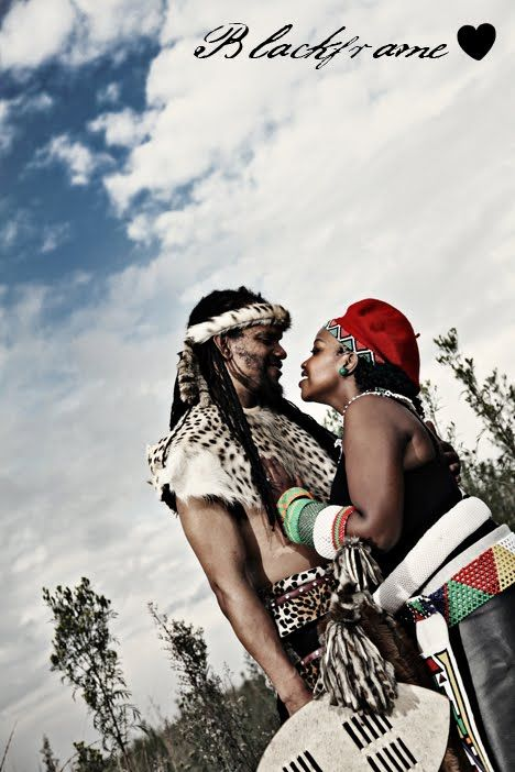 Michel & Jane's Traditional Zulu Wedding