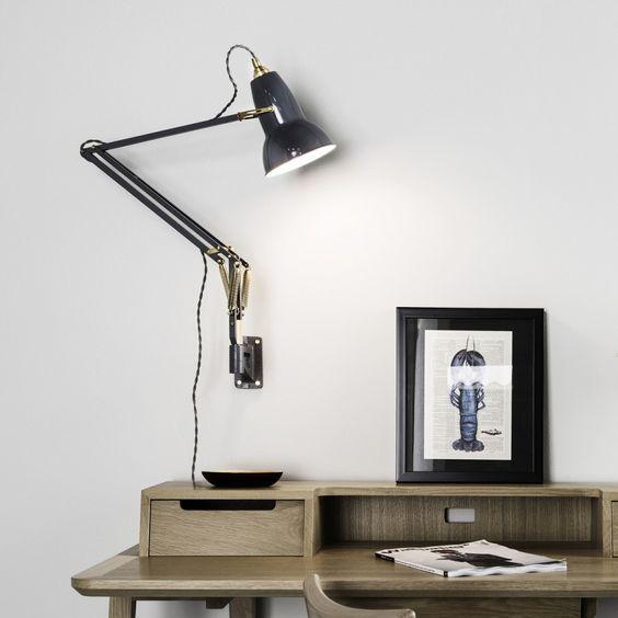 Anglepoise® Original 1227™ Brass Wall Mounted Lamp