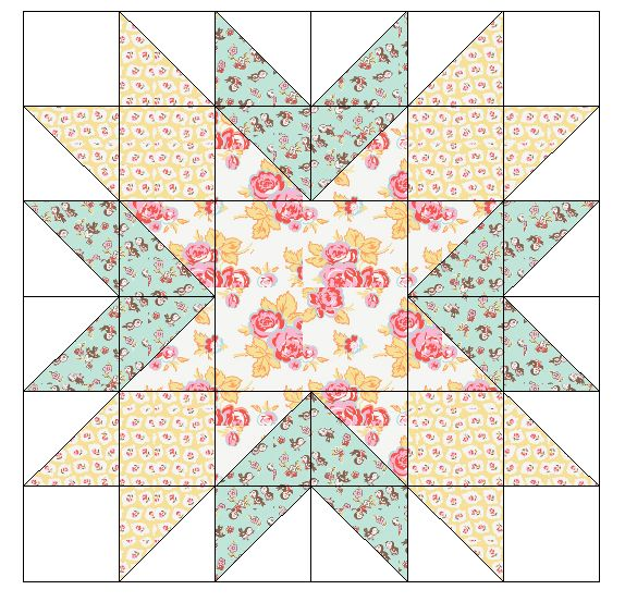 Fort Worth Fabric Studio: Starburst {Mini Quilt Mania}