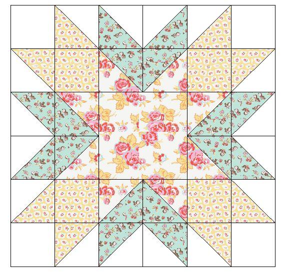 Fort Worth Fabric Studio: Starburst {Mini Quilt Mania}