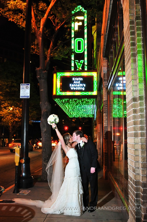 Wedding Reception at the Fabulous Fox Theater