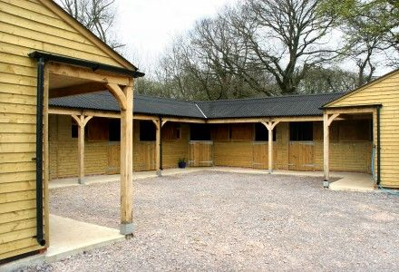 Timber Horse Stables For Sale, Wooden, Stable Block   Broadfield Stables