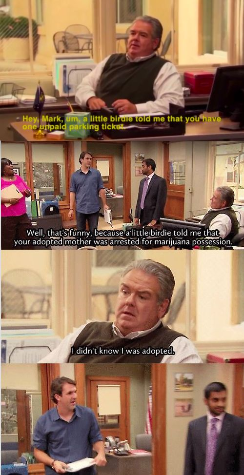 """When Jerry found out he was adopted: 