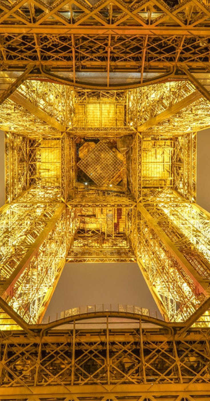 Paris at night is the most beautiful city you can imagine. Convince yourself - 18 pictures to inspire you to discover Paris at night- France. Europe. Eiffel Tower.