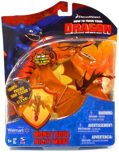 how to train your dragon action figures | How to Train Your Dragon Movie Deluxe 7 inch Action Figure Monstrous ...