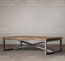Повесить выигрывает северных стран железный мебель стиле лофт свободного покроя кофе деревянный стол журнальный столик с стол ретро-мебель(China (Mainland))