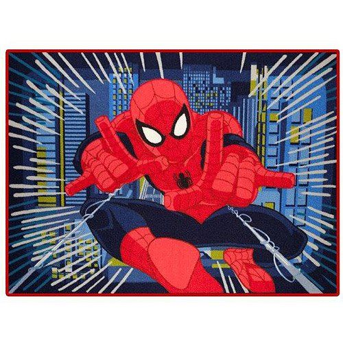 Marvelu0027s Spiderman Nylon Room Rug, 4u00276u2033 X 3u00279u2033