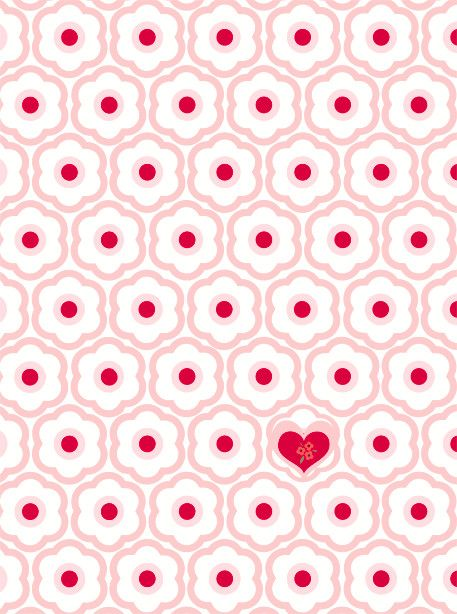 Djeco ~ Wall Paper ~ Small Hearts