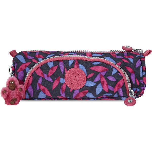 Kipling Cute Back to School pencil case (385 ARS) ❤ liked on Polyvore featuring home, home decor, office accessories, pocket pen, zipper pencil pouch, multi colored pens, colorful pencils and multiple color pen