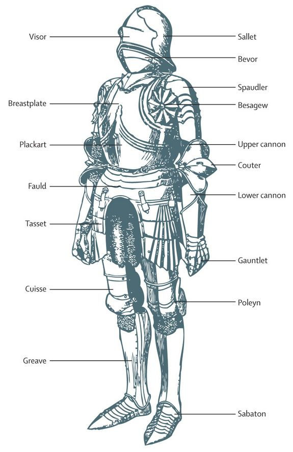 Armour likely worn by King Richard III at Bosworth Field