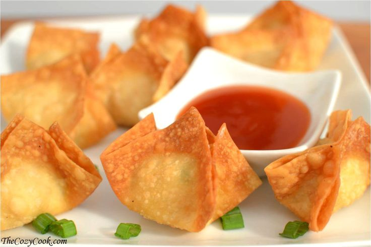 This extra crispy Crab Rangoon will be your new go-to homemade snack. A perfectly crisp outside with a warm, creamy filling that's even better than takeout.
