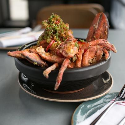 David Lefevre's guide to dining in Manhattan Beach; Salt and pepper lobster at Little Sister.