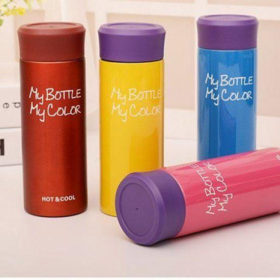 Термосы #MyBottle My Color - незаменимая #вещь в любое #время года! Качественный, #яркий, компактный и стильный #аксессуар, способен поддержать нужную температуру напитка и зимой и летом. Не проливается и не бьется, выдерживает высокие температуры. Характеристики товара: Упаковка: в стильной подарочной коробке на английском языке Комплектация: #термос, подарочная коробка Материал термоса: нержавеющая сталь, силикон пищевой, полипропилен Держит температуру до 72 Сº: до 6 часов/ до 50 Сº: до…