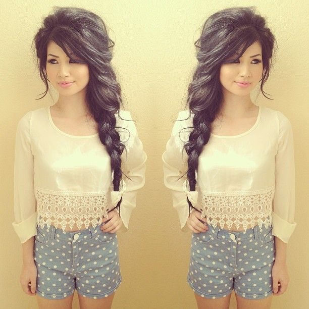 Star light, star bright, I wish I could have this hair tonight.