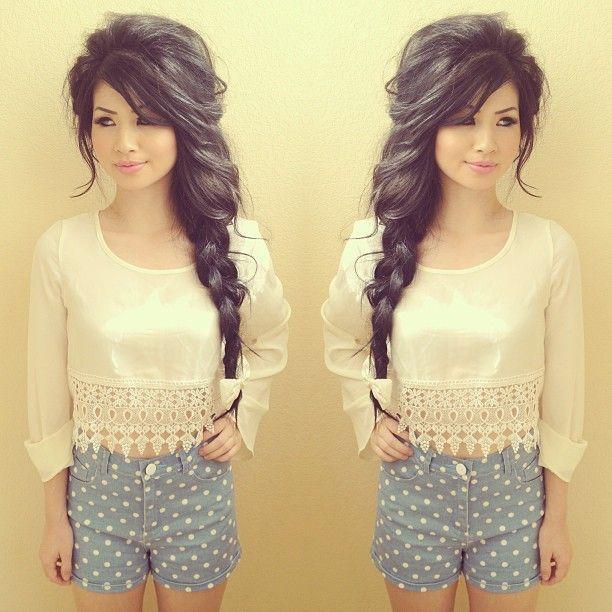 Pleasing 1000 Images About Hairstyles On Pinterest Natasha Salon Hairstyles For Women Draintrainus