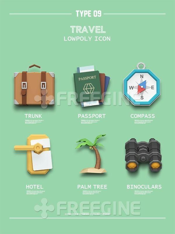 여행, 해변, 오브젝트, 가방, 그래픽, Graphic, 쌍안경, freegine, 트렁크, 여권, 3D, 기하학, 아이콘, 야자수, 호텔…