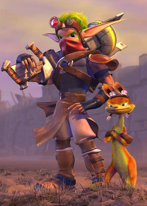 Jak and Daxter was another of the greatest games i played growing up. The story and characters we're amazing! Never disappointed me