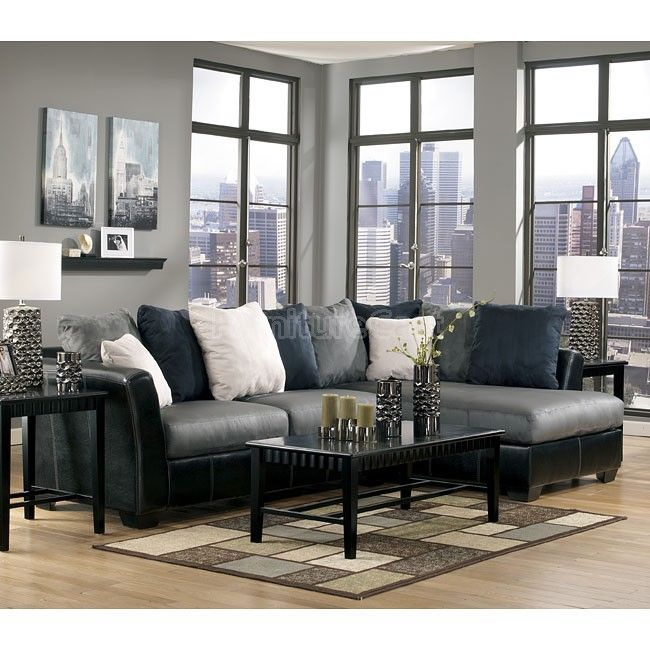 Masoli   Cobblestone Sectional Living Room Set