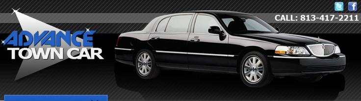 Tampa Town Cars is source for transportation to and from
