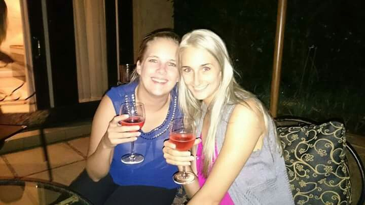 Me and my amazing maid of honour
