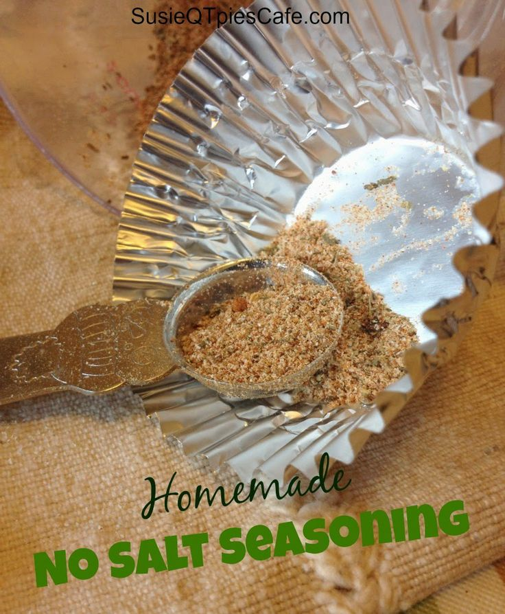 Homemade No Salt Seasoning {Healthy Recipes}