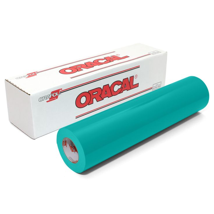 Oracal 651 Glossy Vinyl Rolls 12 Inches by 6 Feet - 61 Color Options