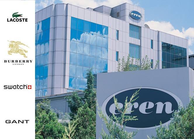 Eren Holding ve Eren Holding'e bağlı Lacoste, Burberry, Gant ve Swatch markaları Özden OSGB'den iş güvenliği danışmanlığı alıyor.