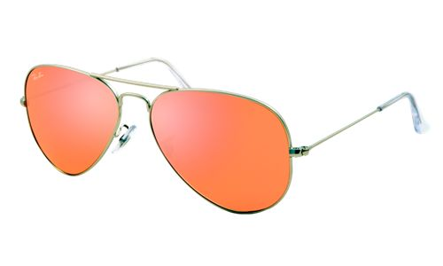RB3025 - 019/Z2 | AVIATOR LARGE METAL NEW COLOR Monture: silver | Verres: brown mirror pink