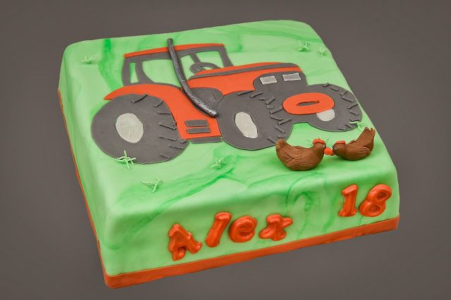 Trekker taart
