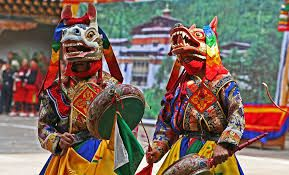 Image result for bhutan festival