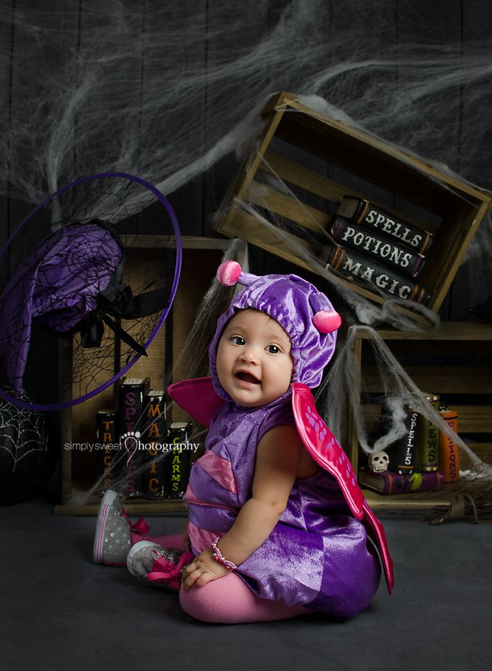 Halloween Mini Sessions! Colorful Butterfly Costume                                                                                                                                                     More