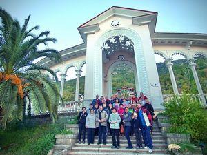 фотоотчет о поездке в Абхазию 26-27 октября 2013