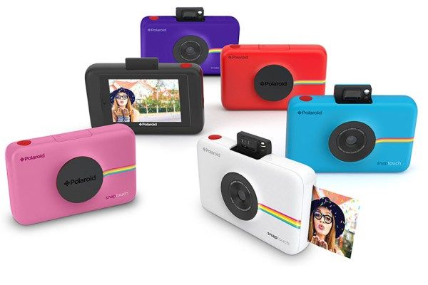 Polaroid's Snap Touch Instant Camera Gets a Touchscreen and Upped Cool Factor