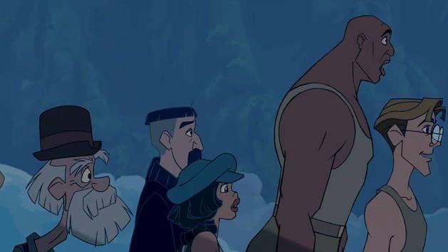 Disney Atlantis Character Design : Cookie vinny audrey joshua milo atlantis the lost
