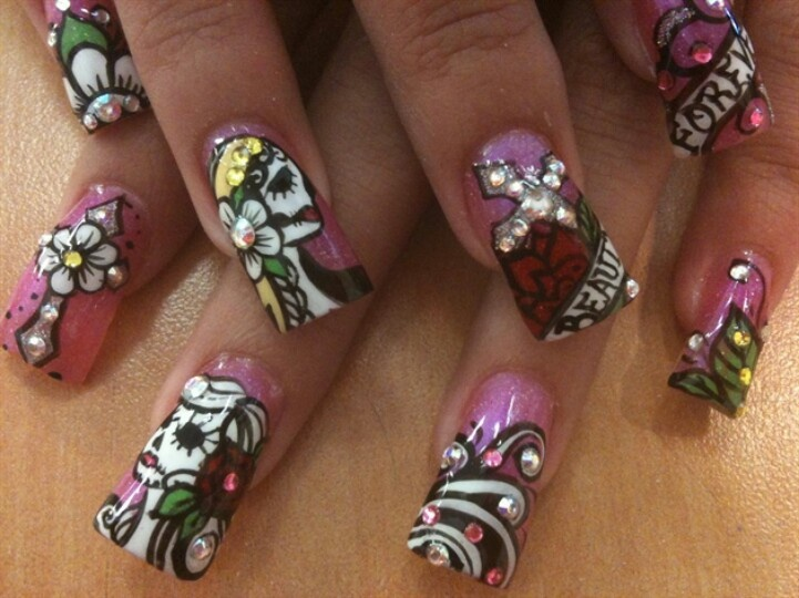 Nails Art: 17 Best Ideas About Rockabilly Nails On Pinterest