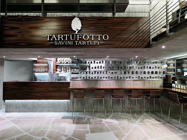 "Restaurant in Milan "" Tartufotto"" on Behance"