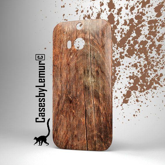 Wood HTC one m8 case HTC one m7 case Htc one X case by LemurCases
