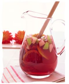 What could be better on a sunny Sukkot afternoon than a cool jug of Sangria?