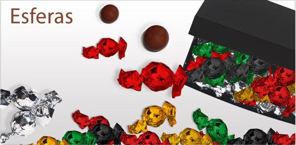 Nuestras bolas de chocolate son bombones con una cubierta de la mejor chocolate belga. ¡Satisfacer las diferentes rellenos!