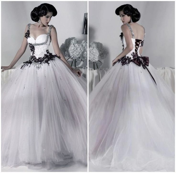 10 best refined gothic wedding dresses images on pinterest for Gothic wedding dresses cheap