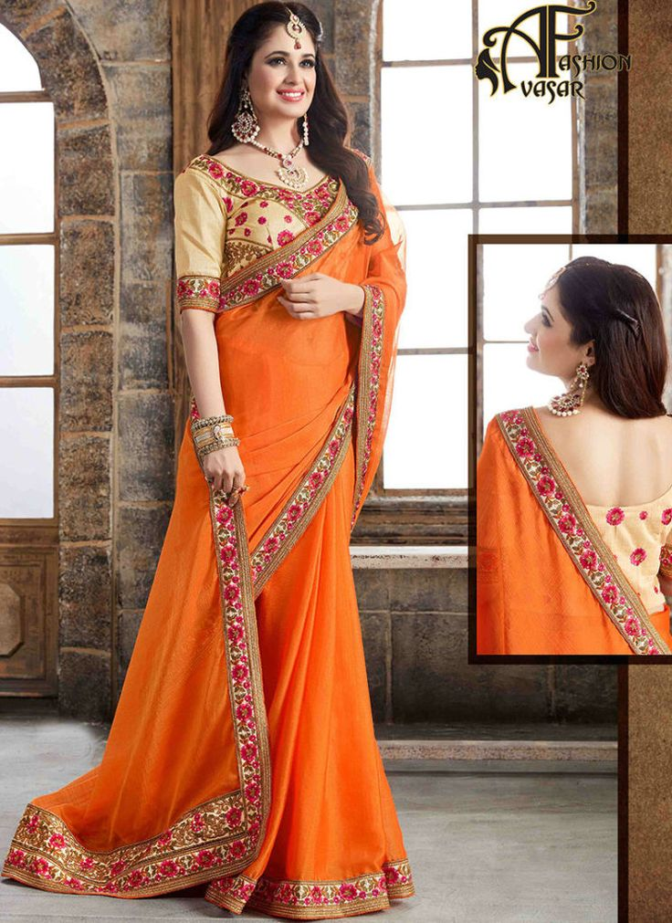 Chiffon Sarees | Buy Chiffon Sarees Online Shopping
