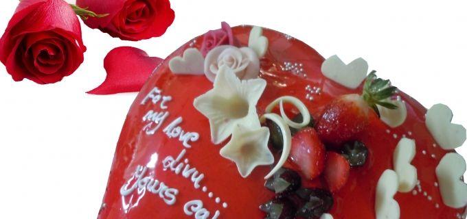 LOGiN Voucher | Deal - 50% 0ff on Valentine's Special Cake