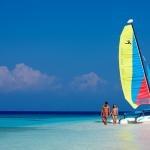 sailing to the sand quay