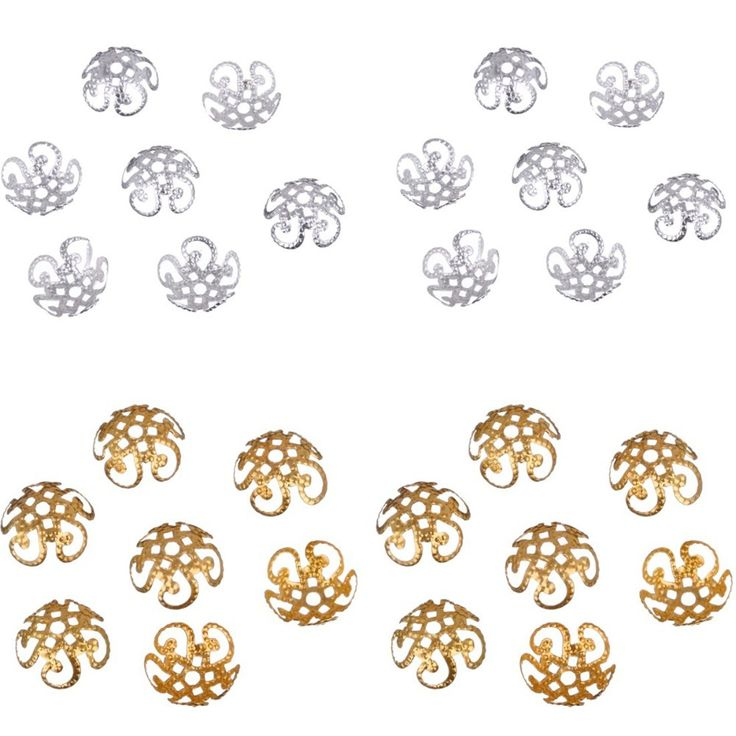 Cheap bead cap, Buy Quality bead jewelry patterns free directly from China cap sportswear Suppliers: 200 pcs/lot 2015 High Quality DIY Gold/Silver Plated Hollow Flower Metal Charms Bead Caps for Jewelry Making Free Shipp