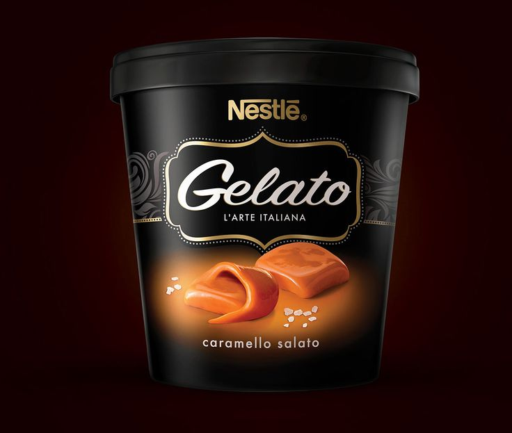 NESTLÉ GELATO on Behance