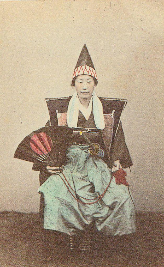Kabuki actor (?) by Shimooka Renjo